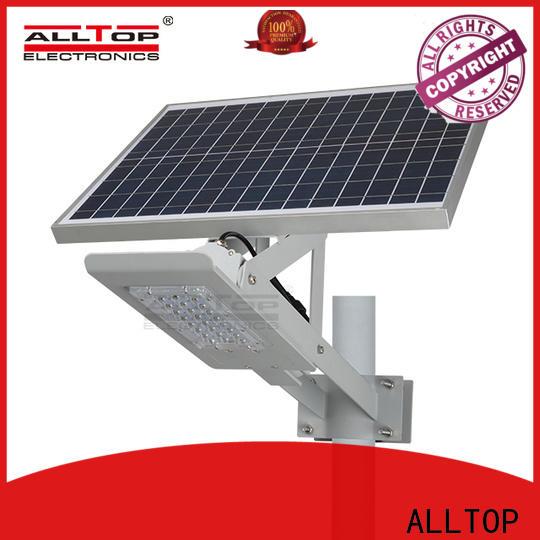 ALLTOP energy-saving solar led street lamp supplier for outdoor yard