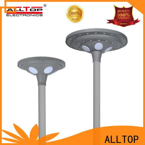 ALLTOP fancy design solar pillar lights supply for decoration