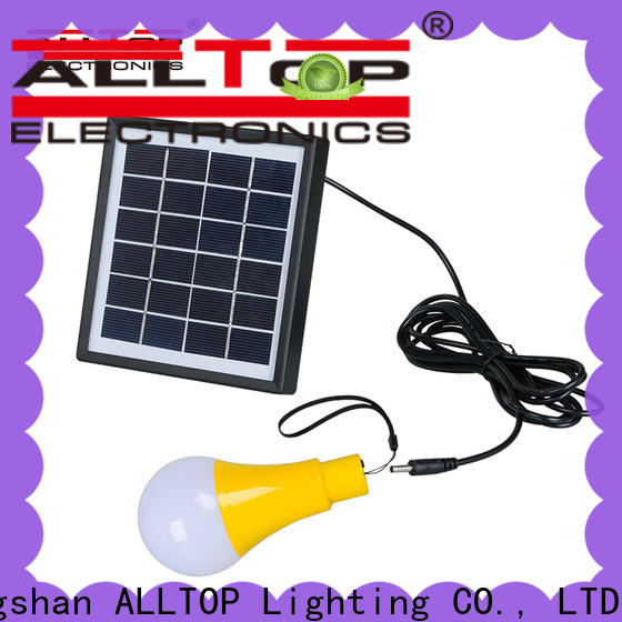 ALLTOP outdoor solar wall lantern series for camping