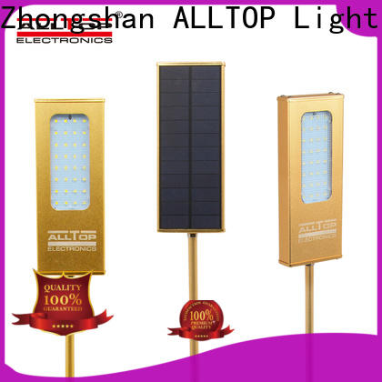 ALLTOP solar wall lights directly sale for camping