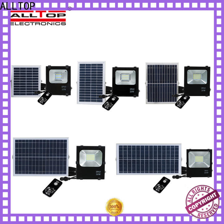 powered solar led flood lights company for spotlight