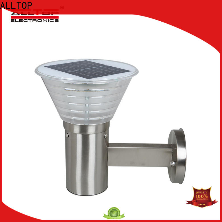 ALLTOP modern solar led wall pack with good price for street lighting