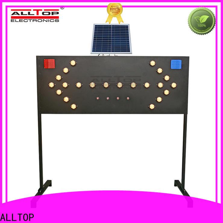 ALLTOP solar traffic light wholesale for security
