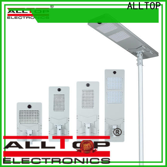 ALLTOP high quality all in one solar street light manufacturer for road