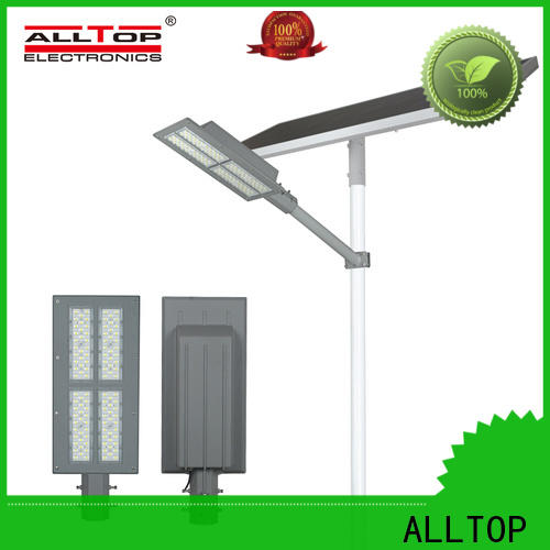 ALLTOP 9w solar street light factory for landscape