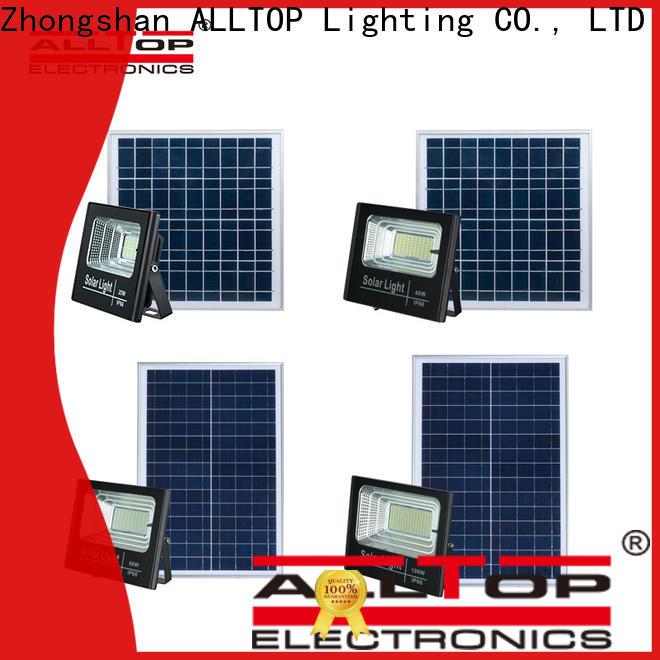 ALLTOP solar led flood lights suppliers for spotlight