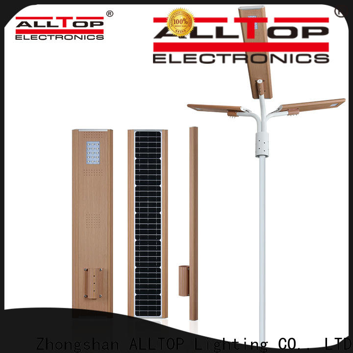 ALLTOP energy-saving automatic solar street light factory manufacturer for road