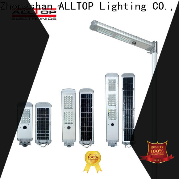 ALLTOP adjustable angle solar powered lights with good price for road