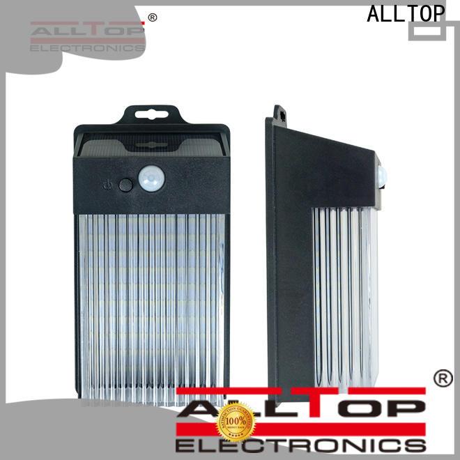 ALLTOP solar pir wall light wholesale for street lighting