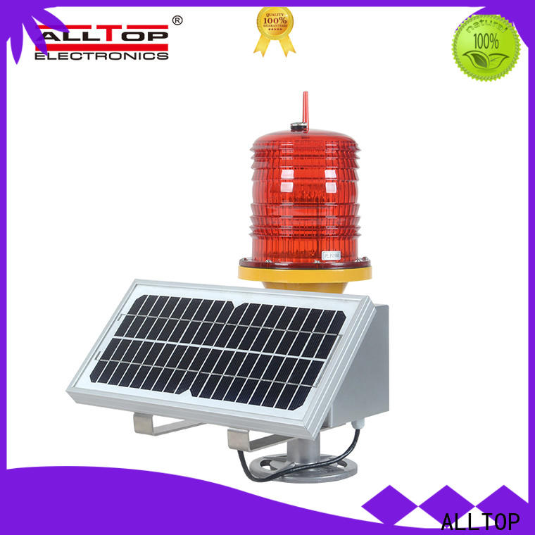 ALLTOP solar powered traffic lights price directly sale for factory