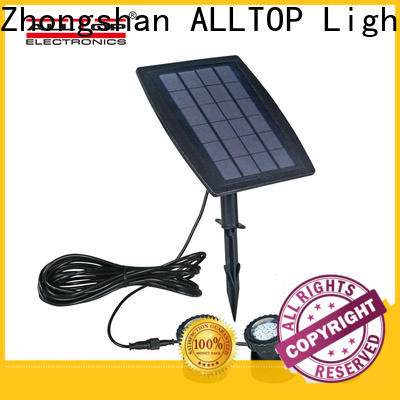 ALLTOP waterproof solar yard lights manufacturers for landscape
