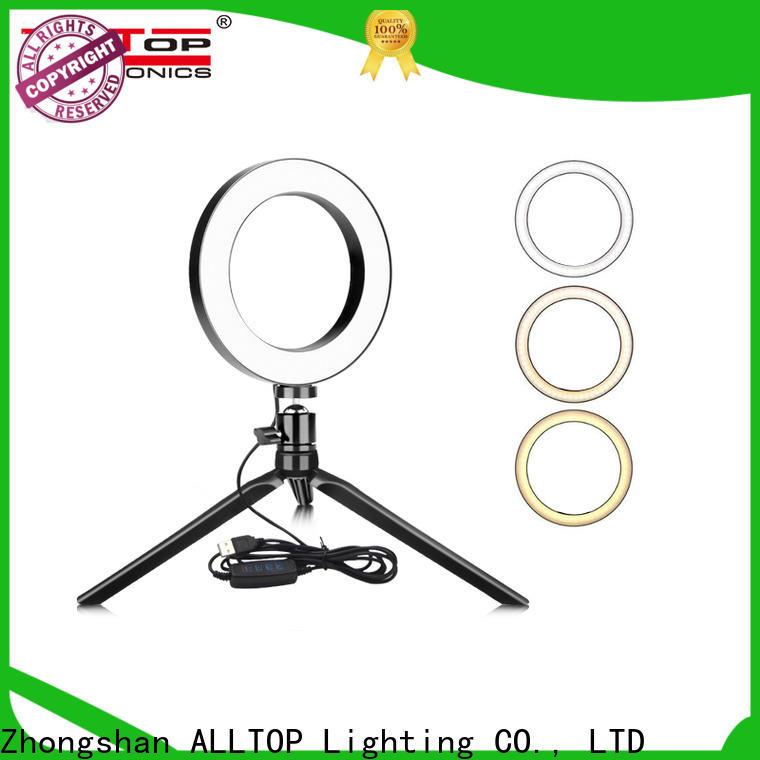 ALLTOP selfie ring light wholesale for camping