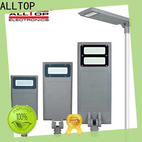 ALLTOP waterproof all in one solar street courtyard light manufacturer for highway
