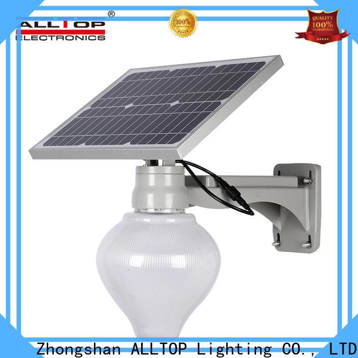 top selling 30w solar street light series for garden