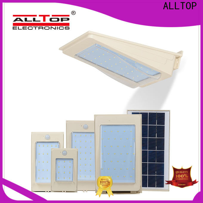 ALLTOP solar wall lights supplier for garden