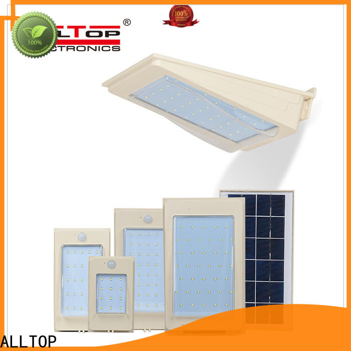 ALLTOP solar wall sconce factory direct supply for party