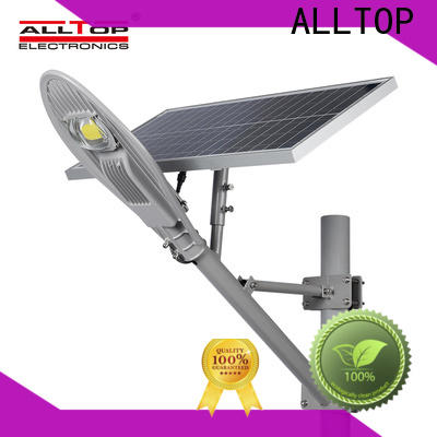 ALLTOP 9w solar street light directly sale for playground