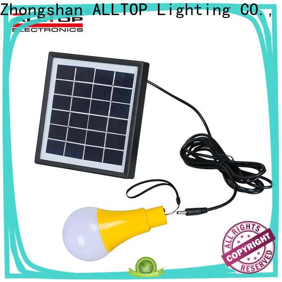 ALLTOP energy-saving solar pir wall light supplier for garden