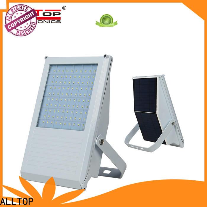 ALLTOP rechargeable solar flood lamp for business for spotlight