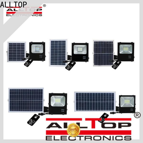 ALLTOP solar flood lights suppliers for stadium
