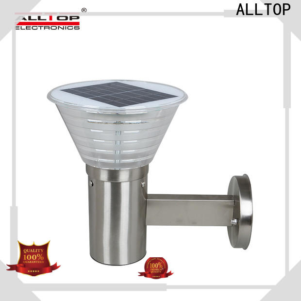 ALLTOP solar led wall lamp directly sale for street lighting