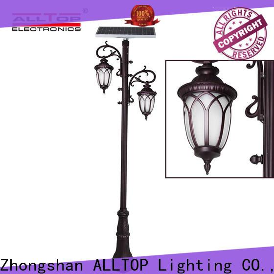 custom watt solar pillar lights for business for decoration