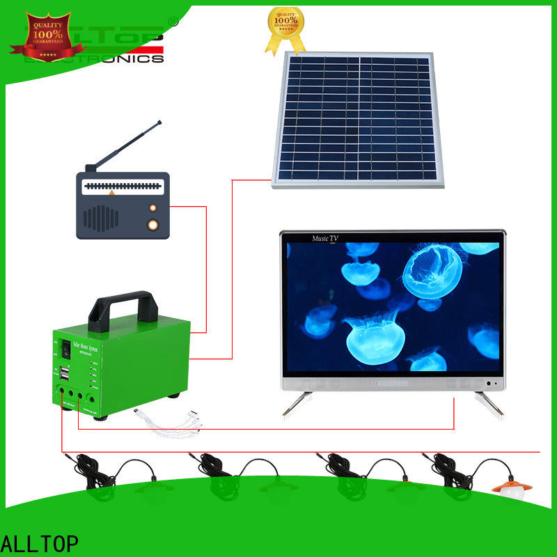 ALLTOP customized solar powered flood lights with good price for camping