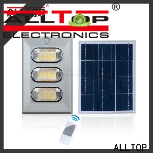 ALLTOP folding solar sensor flood lights factory for stadium