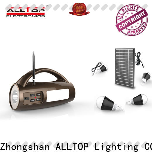 ALLTOP energy-saving advantages of solar powered street lights factory direct supply for battery backup
