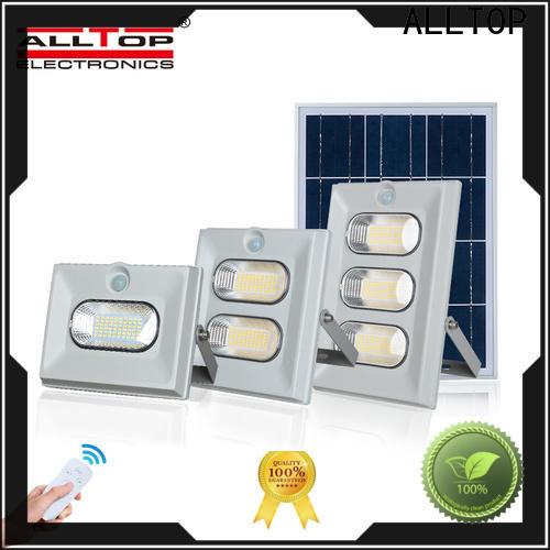 ALLTOP powered solar flood lamp suppliers for spotlight