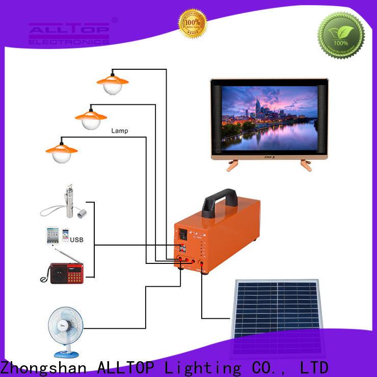 ALLTOP multi-functional solar powered lights oem manufacturer for home