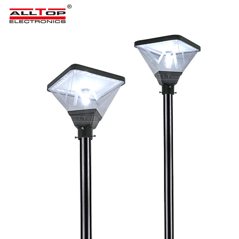ALLTOP park road lighting waterproof ip65 20w led solar garden light