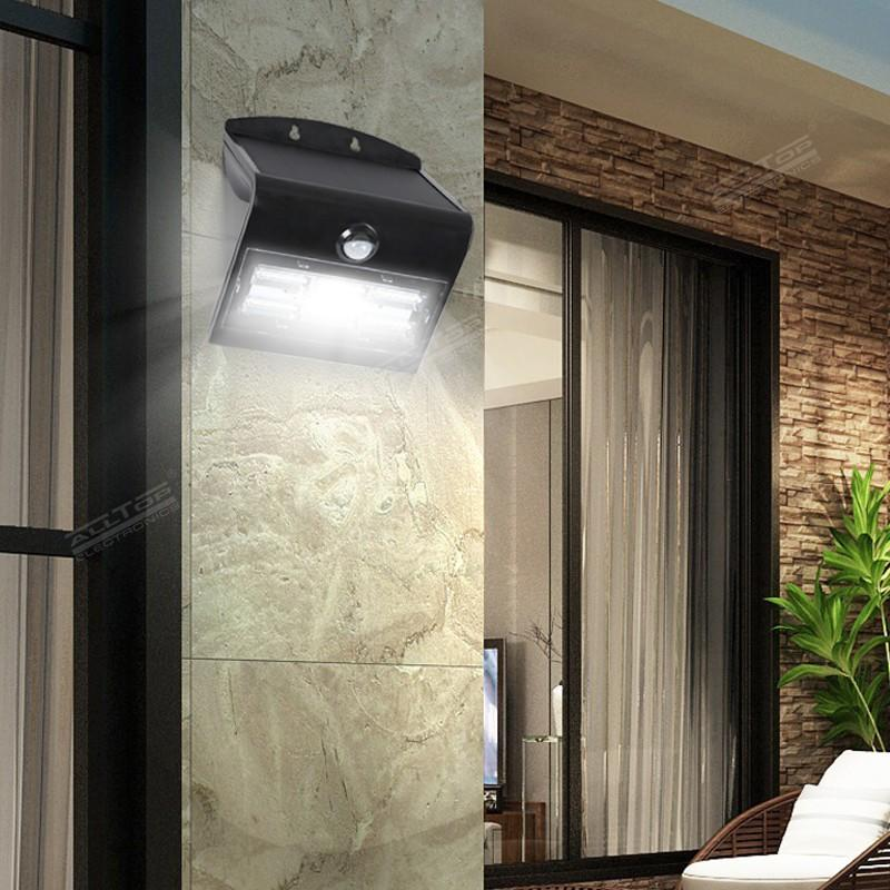 ALLTOP modern solar pir wall light manufacturer highway lighting