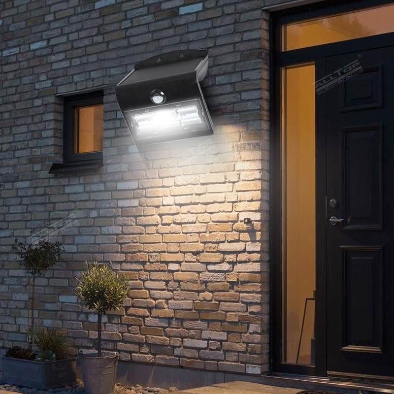ALLTOP modern solar pir wall light manufacturer highway lighting-10