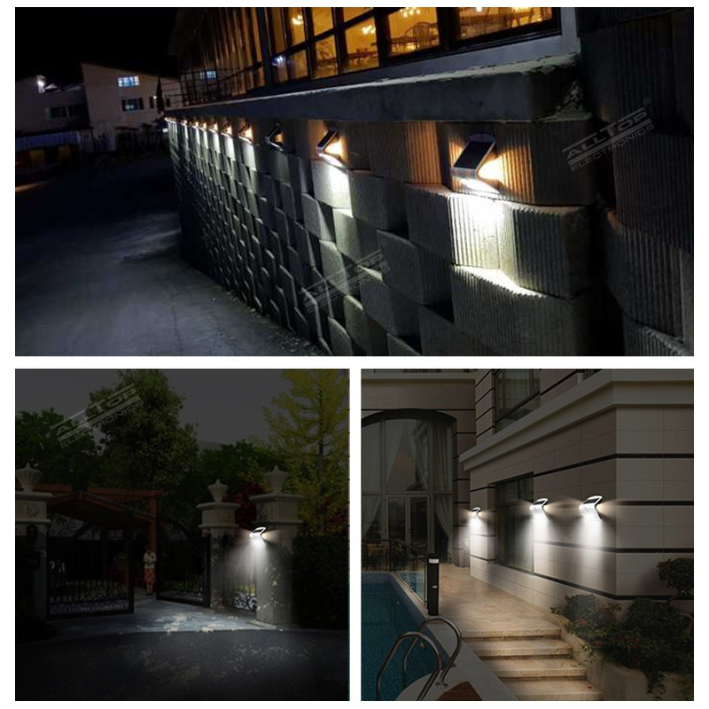 ALLTOP modern solar pir wall light manufacturer highway lighting-11