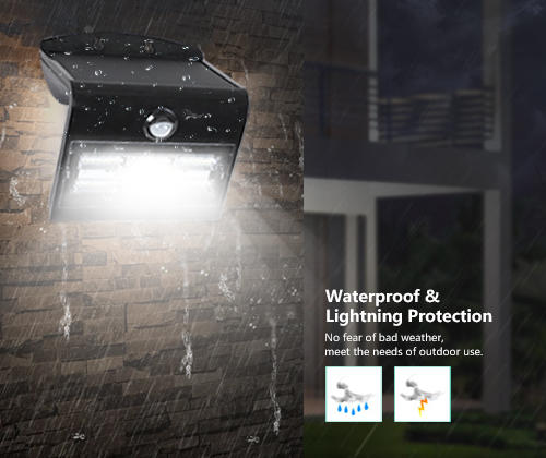 ALLTOP modern patio wall lights directly sale for camping