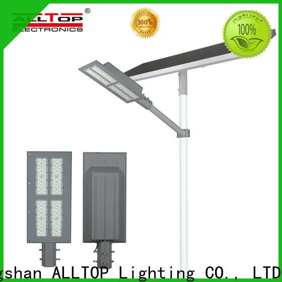 ALLTOP top selling 12w solar street light wholesale for landscape