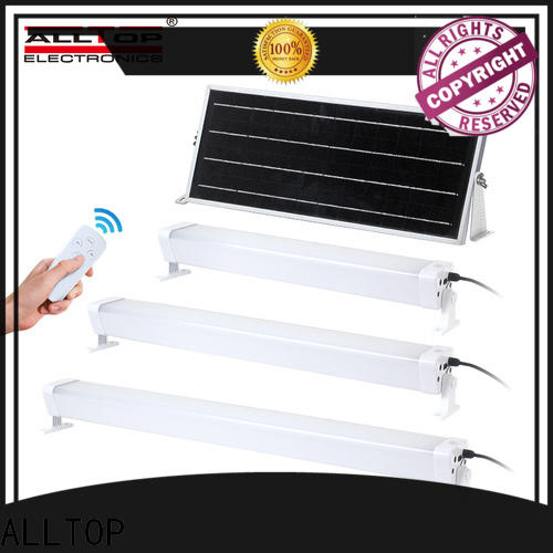 ALLTOP solar pir wall light supplier for street lighting