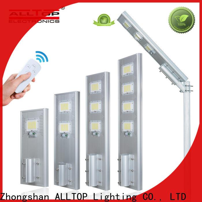 ALLTOP wholesale all in one solar led street light manufacturer for garden