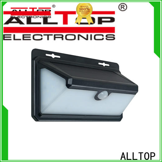 ALLTOP outdoor solar led wall lamp with good price for party