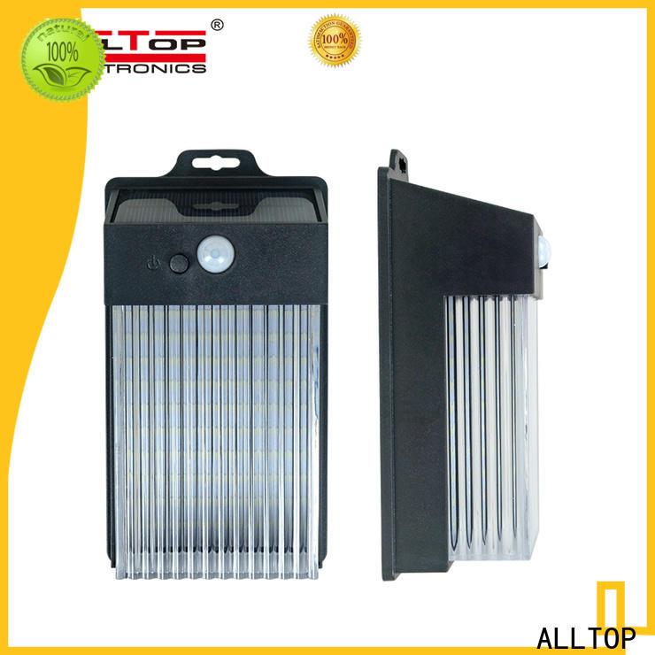 ALLTOP solar wall sconce wholesale for street lighting