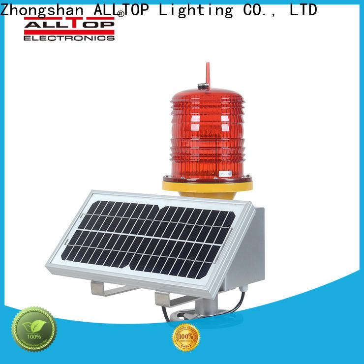 ALLTOP double side solar powered traffic lights suppliers supplier for hospital