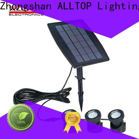 ALLTOP custom watt customized solar garden light factory for landscape