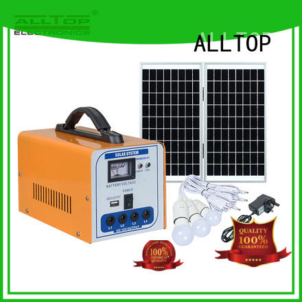 ALLTOP portable advantages of solar powered street lights with good price for home