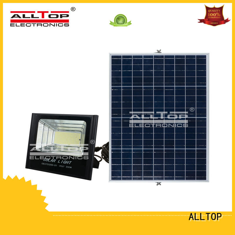 folding solar floodlight aluminum alloy for spotlight