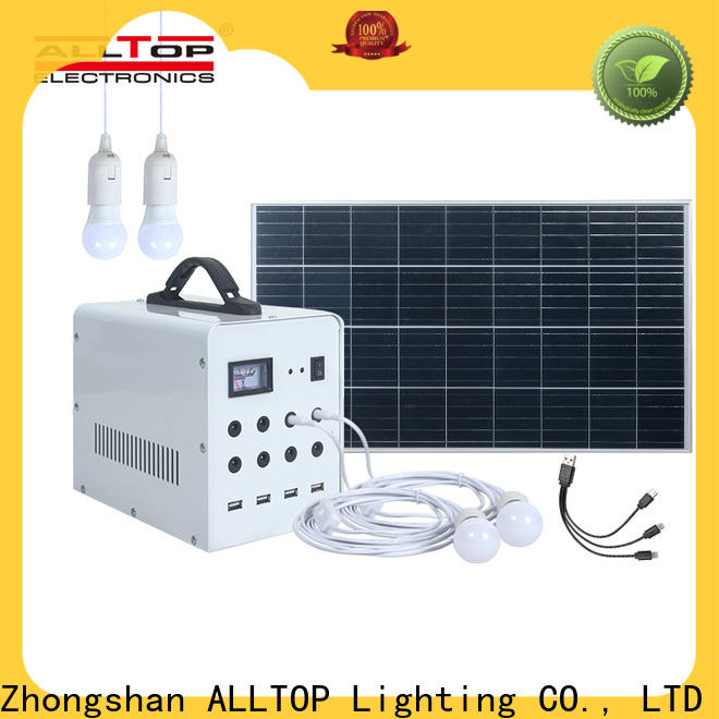ALLTOP high power 100w led street lights manufacturers wholesale for battery backup