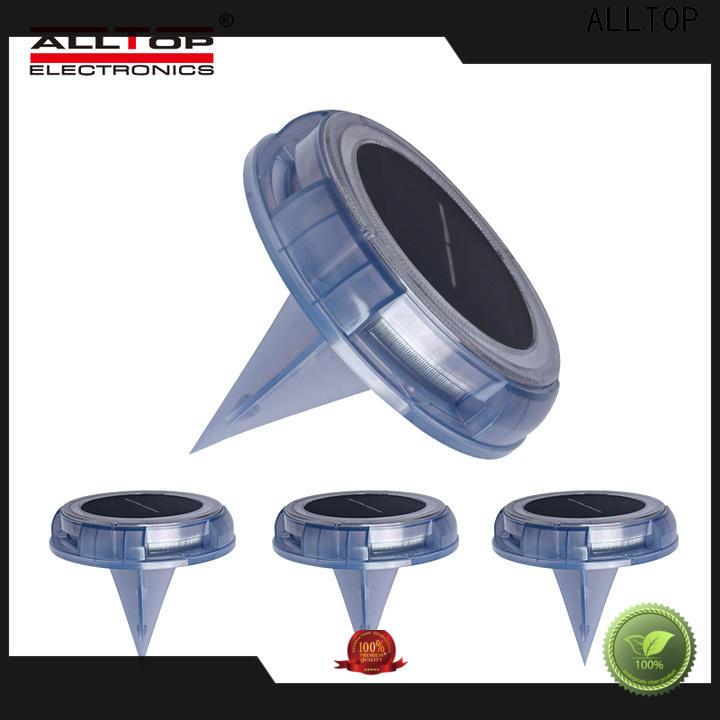 ALLTOP custom watt solar garden lamps suppliers for decoration