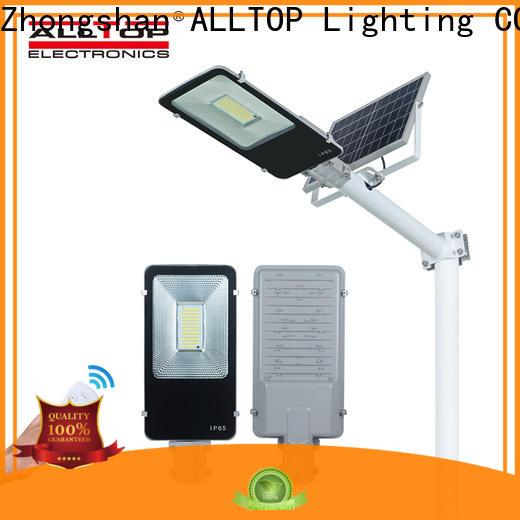 ALLTOP 12w solar street light series for garden