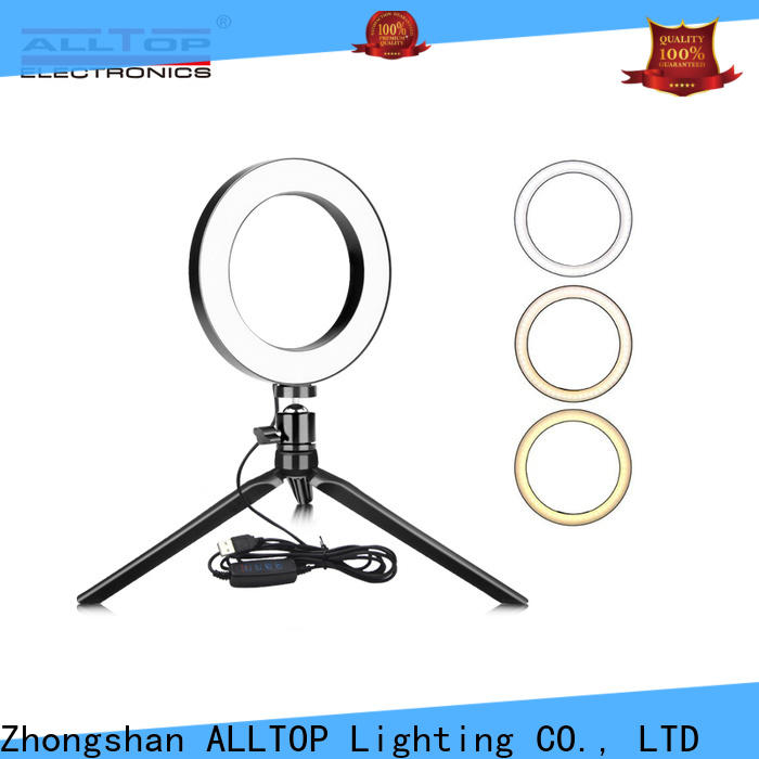 ALLTOP custom selfie ring light supplier for family