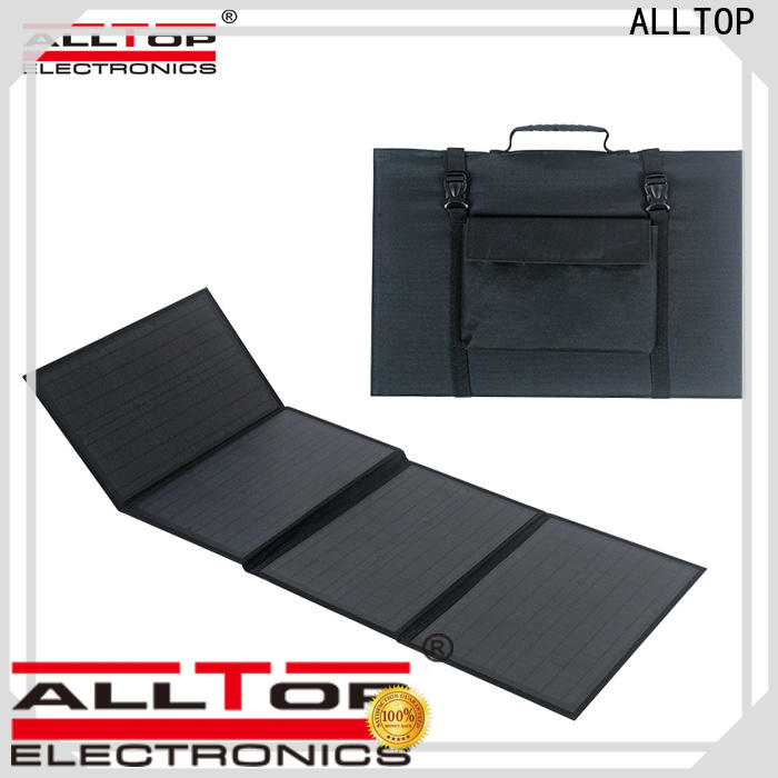 ALLTOP portable customized solar powered flood lights wholesale for outdoor lighting